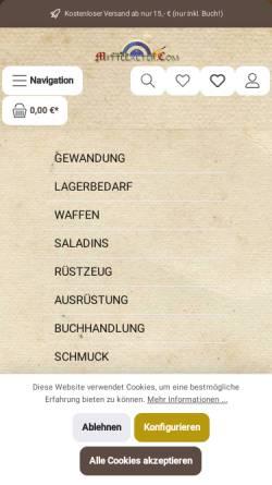 Vorschau der mobilen Webseite kontor.mittelalter.com, Mittelalter.Com