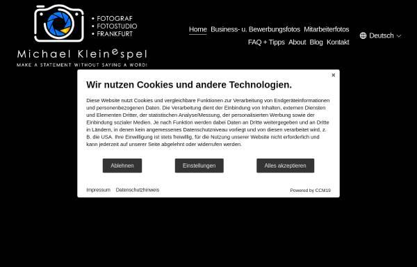 Vorschau von fotograf.business, Michael Kleinespel - Fotograf