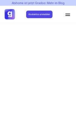 Vorschau der mobilen Webseite www.abihome.de, ABIHOME