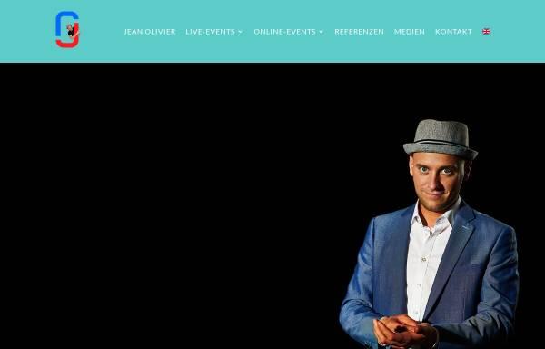 Vorschau von www.jean-olivier.com, Jean Olivier - Zauberer, Magier & Illusionist