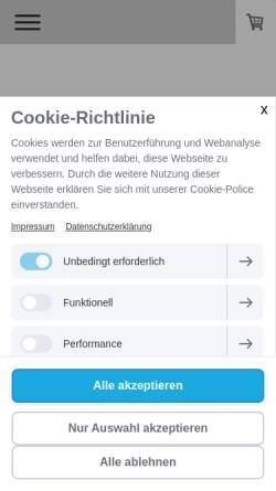 Vorschau der mobilen Webseite www.sbschmuck.de, Goldschmiede Stephanie Berger