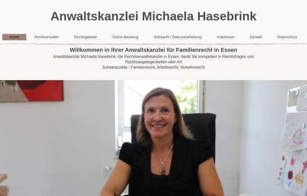 Vorschau von www.kanzlei-hasebrink.de, Anwaltskanzlei Michaela Hasebrink