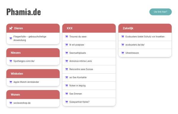 Vorschau von www.phamia.de, phamia Versandapotheke
