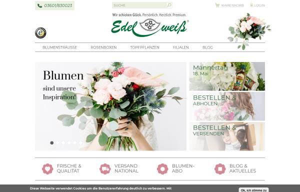 Vorschau von www.blumenversand-edelweiss.de, Blumenversand Edelweiß