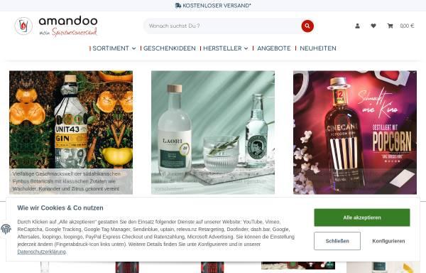 Vorschau von www.meinspirituosenversand.de, MeinSpirituosenversand