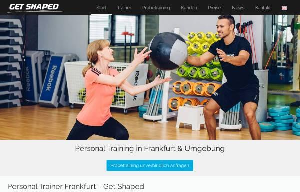 Vorschau von www.get-shaped.de, Philippe Krisch, Get Shaped