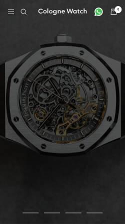 Vorschau der mobilen Webseite www.colognewatch.de, Colognewatch Center