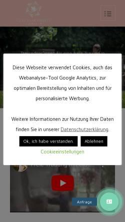 Vorschau der mobilen Webseite www.gluecksmomente.online, Glücksmomente by Julia Leddin