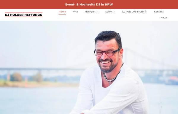 Vorschau von dj-heffungs.de, DJ Holger Heffungs