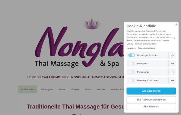 Vorschau von www.nonglak-thaimassage-spa.de, Nonglak Thaimassage Spa