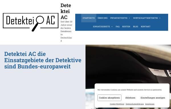 Vorschau von www.detektei-ac.de, Detektei AC