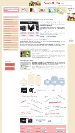 Vorschau der mobilen Webseite www.namen-namensbedeutung.de, Namen / Namensbedeutung