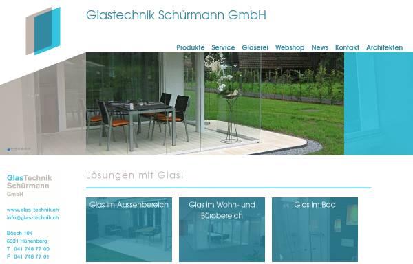 Vorschau von www.glas-technik.ch, Glastechnik Schürmann GmbH