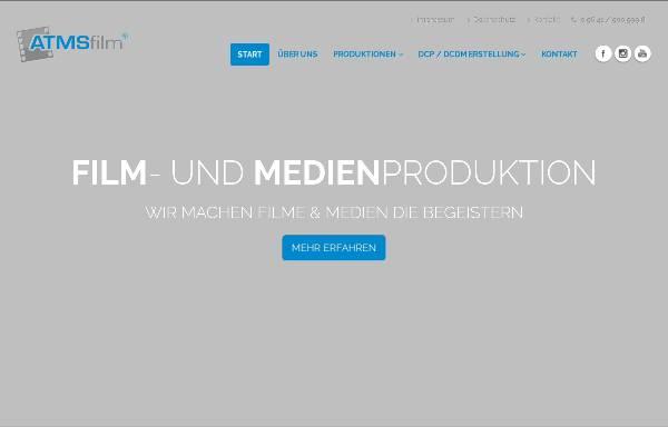 Vorschau von www.atms-film.de, ATMS Film