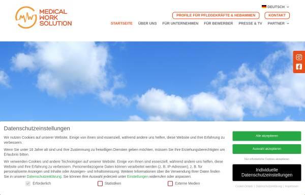 Vorschau von www.medical-work-solution.com, Medical Work Solution GmbH