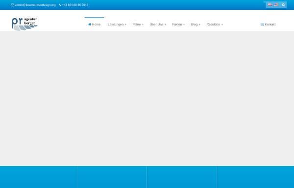 Vorschau von www.internet-webdesign.org, PR Agentur Michael Berger