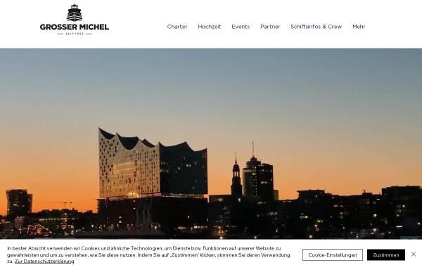Vorschau von www.grossermichel.de, Grosser Michel - Event- und Hotelschiff