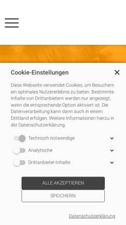 Vorschau der mobilen Webseite www.hundeschule-amperland.de, Hundeschule Amperland - Ihre mobile Hundeschule im LK Fürstenfeldbruck