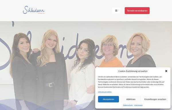 Vorschau von www.schleideern.de, Schleideideern Kosmetik