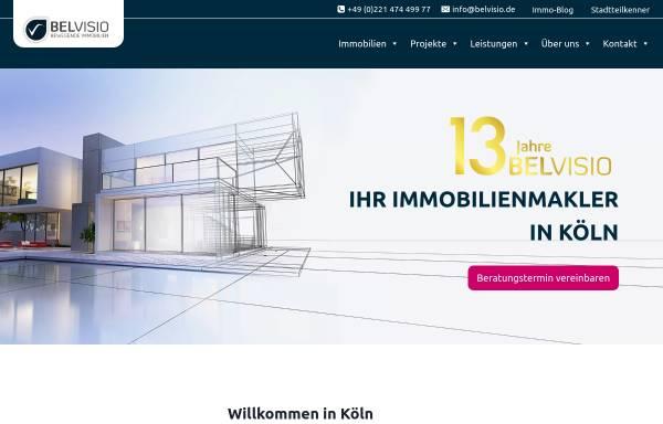 Vorschau von www.belvisio.de, Belvisio GmbH & Co. KG