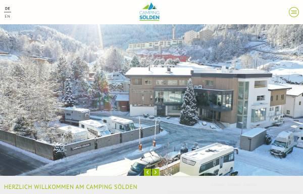 Vorschau von www.camping-soelden.com, Camping Sölden