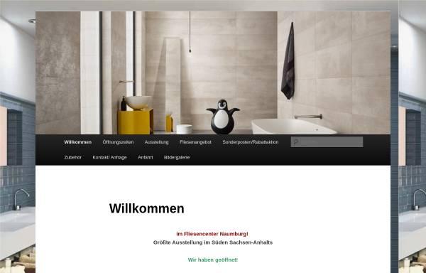 Vorschau von www.fliesen-naumburg.de, Fliesencenter Naumburg GmbH
