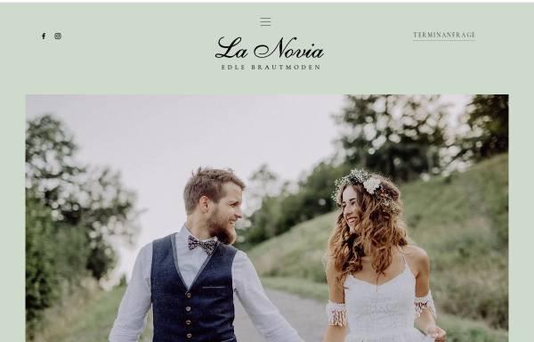 Vorschau von brautmode-niederbayern.de, La novia - Hochzeitsmode für Braut & Bräutigam