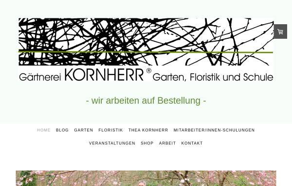 Vorschau von www.kornherr.info, Gärtnerei KORNHERR