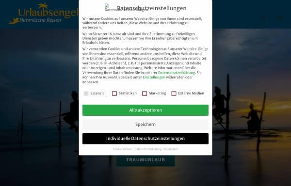 Vorschau von www.urlaubsengel.de, Reiseagentur Urlaubsengel