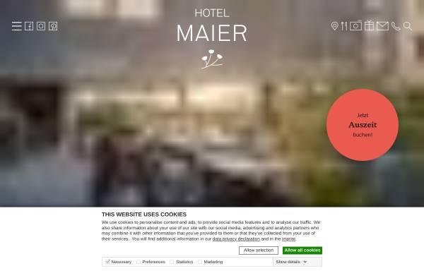 Vorschau von www.hotel-maier.de, Hotel Restaurant Maier