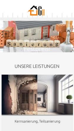 Vorschau der mobilen Webseite www.goldeneshaendchen.de, Goldenes Händchen