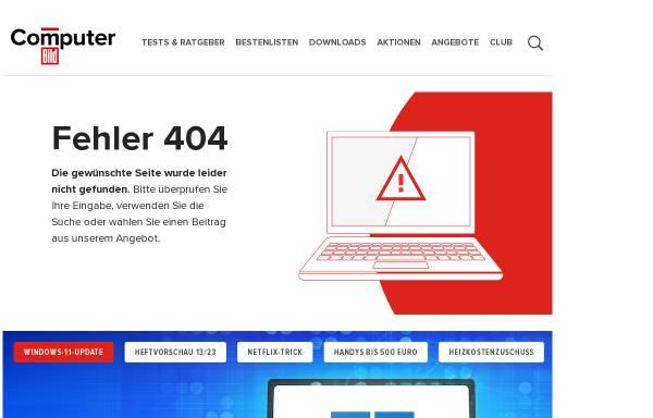 Vorschau von www.computerbild.de, Das Glossar von Computerbild