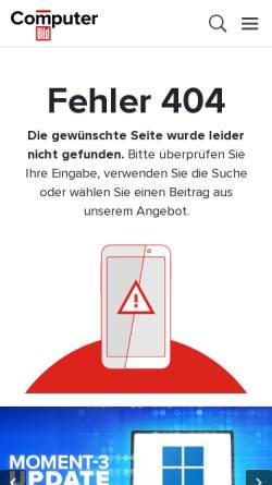 Vorschau der mobilen Webseite www.computerbild.de, Das Glossar von Computerbild