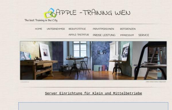 Vorschau von apple-training.at, Apple-Training Wien