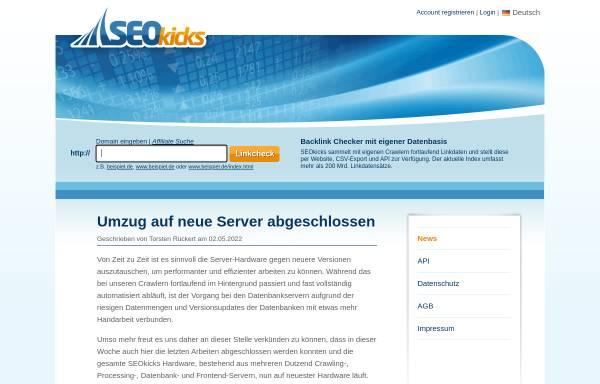 Vorschau von www.seokicks.de, SEOkicks
