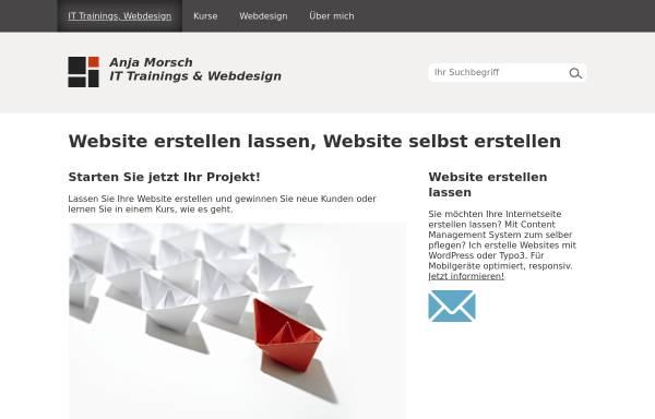 Vorschau von www.anjamorsch.de, Anja Morsch