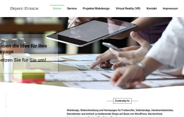 Vorschau von dejavu-design.de, Dejavu-Design