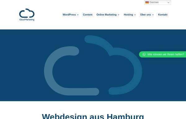 Vorschau von www.cloudmarketing.de, CloudMarketing