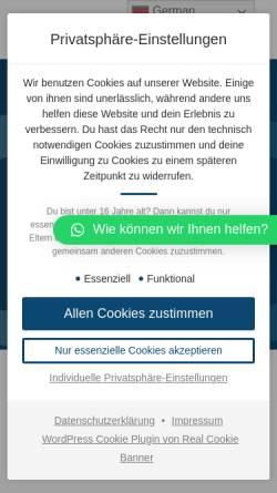 Vorschau der mobilen Webseite www.cloudmarketing.de, CloudMarketing