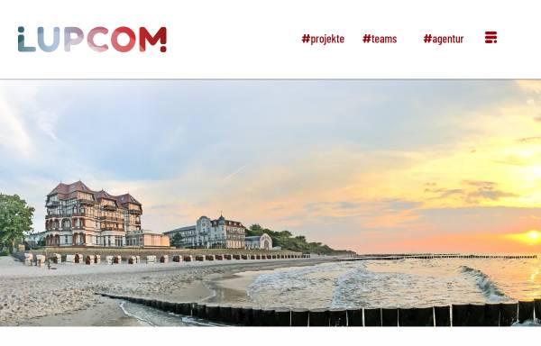 Vorschau von www.lupcom.de, Lupcom