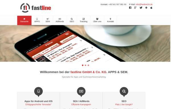 Vorschau von www.fastline24.de, Fastline GmbH & Co. KG