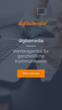 Vorschau der mobilen Webseite www.digitalmedia.de, Digitalmedia.de GmbH