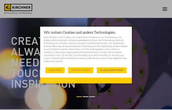 Vorschau von www.kirchner-kum.de, Kirchner Kommunikation und Marketing