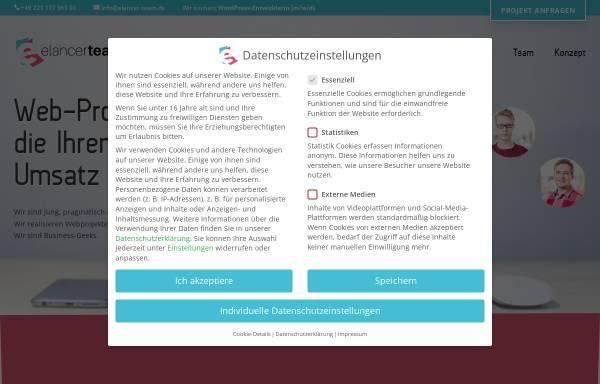 Vorschau von www.elancer-team.de, Elancer Team
