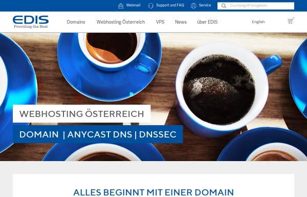 Vorschau von www.edis.at, Edis GmbH