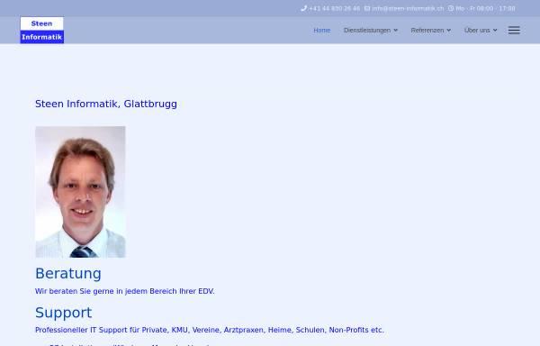 Vorschau von www.steen-informatik.ch, Steen Informatik