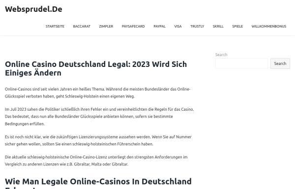 Vorschau von www.websprudel.de, WEBSprudel, Fabian Knopf