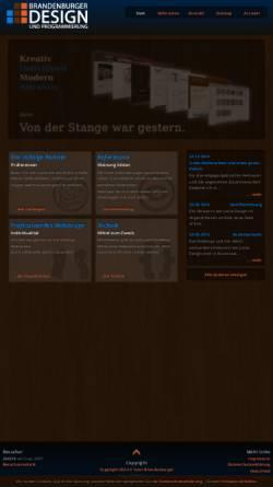 Vorschau der mobilen Webseite ichbins.net, Ichbins, Sven Brandenburger
