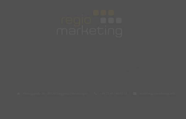Vorschau von www.regio-marketing.info, Regio Marketing, Ulrich Junginger