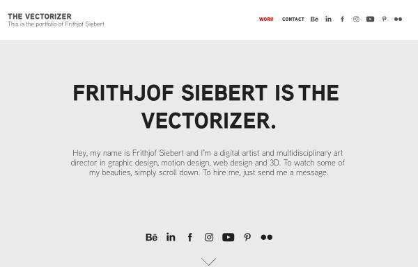 Vorschau von frithjof-siebert.de, Frithjof Siebert